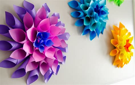 Easy To Make Paper Flowers - 7 beautiful and easy to make paper flowers to brighten up