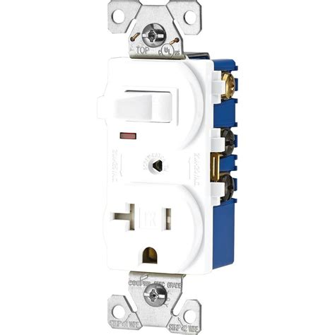 leviton combination switch and ter resistant outlet