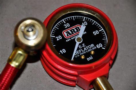 wd tyre pressures