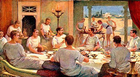 banchetti antica roma antica roma banchetti e abbuffate antica roma