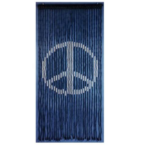 peace curtains peace sign wood beaded curtain the poppy seed