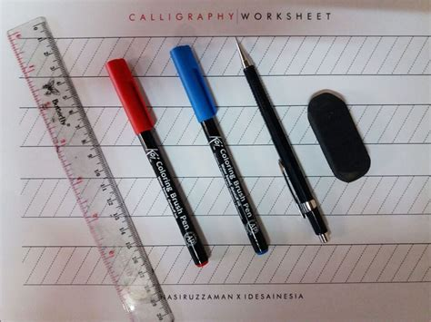 tutorial kaligrafi kaca tutorial dasar belajar kaligrafi dengan brush pen
