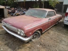 1962 Chevrolet For Sale Estate Sale Auction 1962 Chevy Impala Ss Bring A Trailer