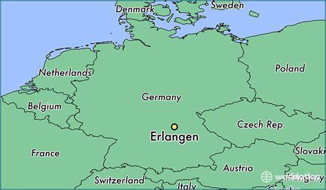 map of erlangen germany where is erlangen germany where is erlangen germany