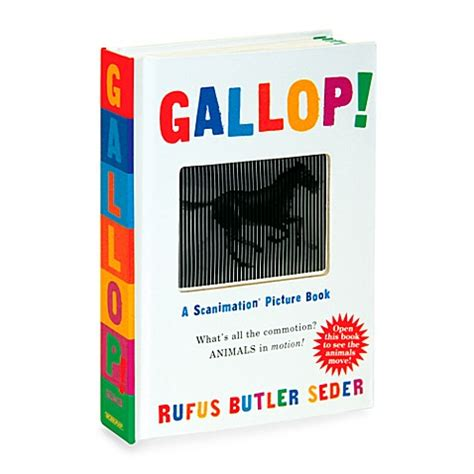 gallop a scanimation picture book gallop a scanimation picture book bed bath beyond