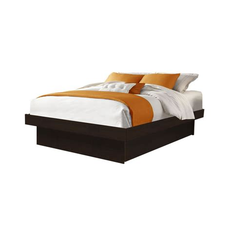 platform full size bed full size platform bed contempo space
