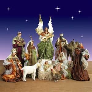 12 piece church nativity set 42 inch scale