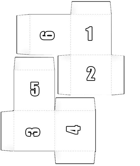 pattern for a paper cube box pattern or make a cube paper toy chonzskypedia