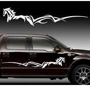 Custom Order Horse Stripe Decal Kit Set 2 Graphic RV Truck  EBay