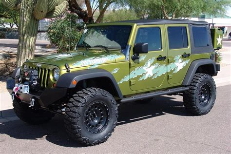 Jeep Careers 2007 Jeep Wrangler Custom 4 Door War Wagon 60603