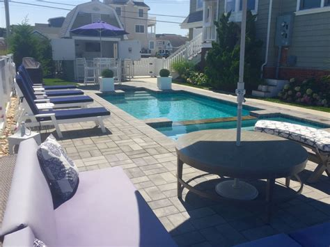 boat slips for rent avalon nj stunning bayfront home with heated pool jacuzzi cabana