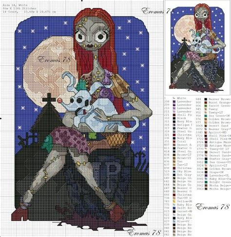 zero nightmare before christmas sewing pattern 1000 images about jack skellington cross stitch on
