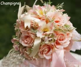 Silk Flower Bouquets Alluring Silk Flower Wedding Bouquets 2016