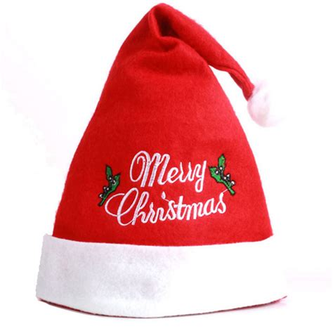 custom wholesale christmas hat santa hat and cap buy