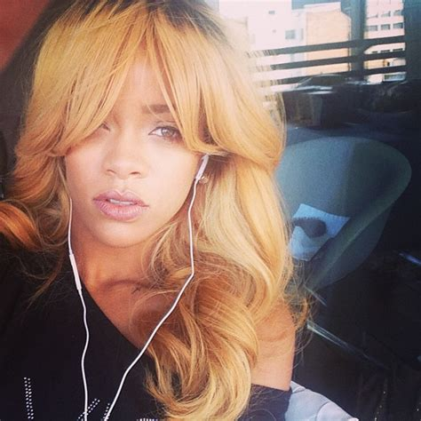 blonde hairstyles on instagram rihanna hairstyles