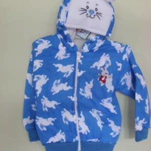 Jaket Waterproof Serut Bayi Hello Ungu jaket bayi kelinci biru baju bayi celana bayi celana