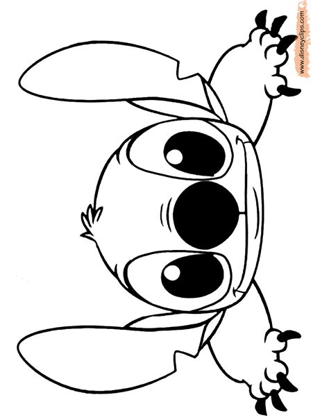 Stitch Coloring Pages lilo and stitch printable coloring pages disney coloring