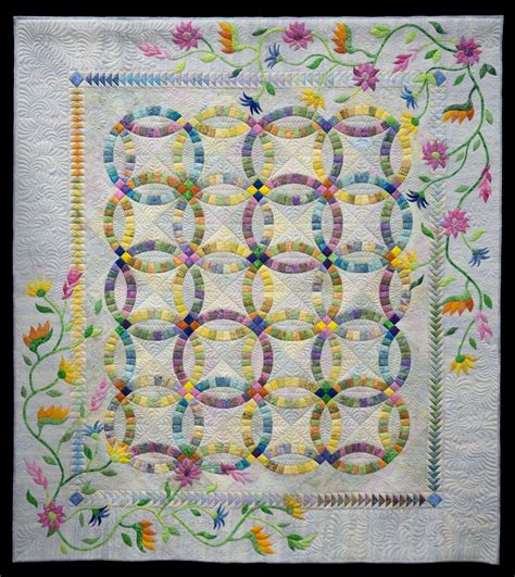 296 best wedding ring quilts images on pinterest double