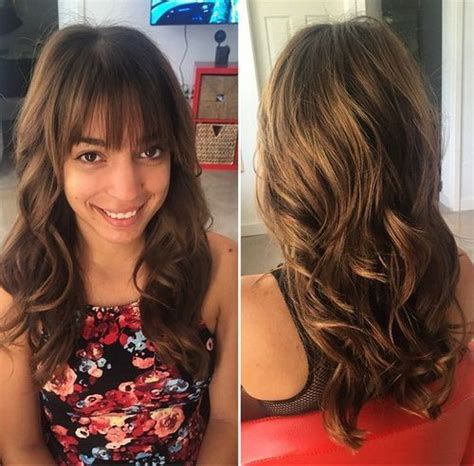 long long hair w lots layers and bangs 80 cute layered hairstyles and cuts for long hair in 2018