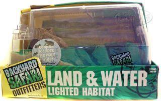 backyard safari land water habitat frogs habitat information on popscreen