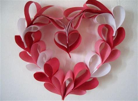 Paper Craft Hearts - san valent 237 n guirnalda corazones todo bonito