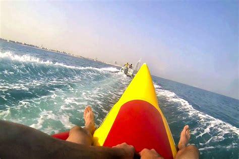 banana boat ride dubai watersports water sports dubai donut ride dubai banana