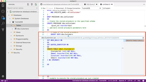 sql query tutorial msdn announcing sql operations studio for preview sql server blog