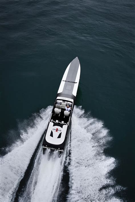 cigarette boat to bahamas benzboost mercedes amg and cigarette collaborate for a