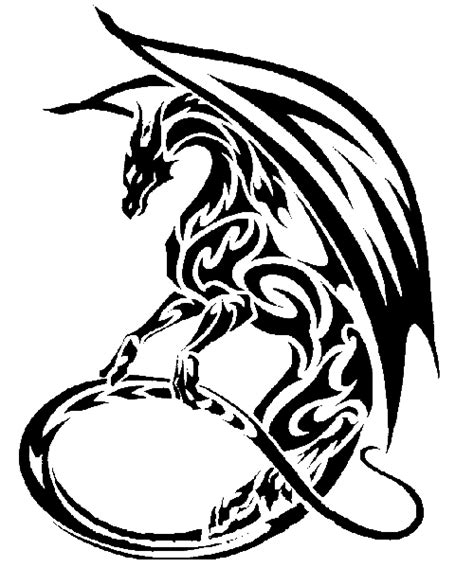 dragones tribales png clipart best