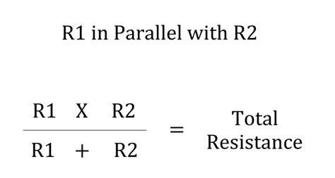 equation for resistors in parallel wiring your speaker cabinet mojo shout
