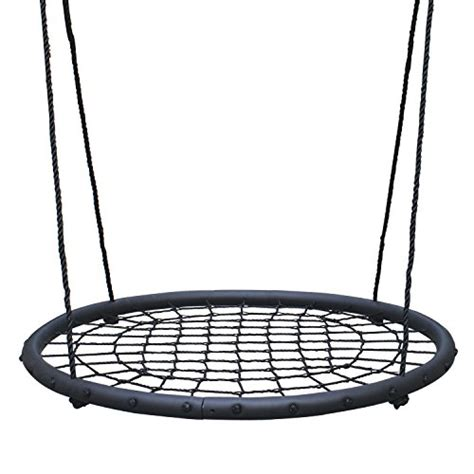 net swing tree net swing giant 40 quot wide two person outdoor web rope