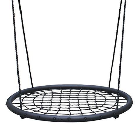 net swings tree net swing giant 40 quot wide two person outdoor web rope
