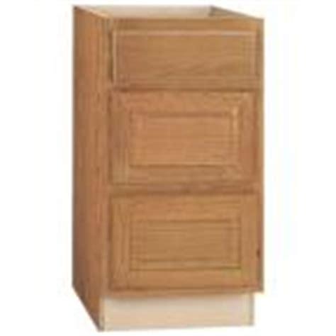 18x34 5x24 in base cabinet in unfinished oak b18ohd the hton bay 18x34 5x24 in hton drawer base cabinet in