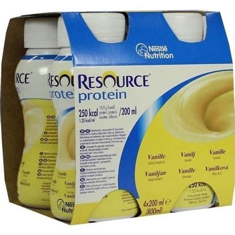 200ml Nr Shoo Protein resource protein drink vanille 6x4x200 ml pzn 00723856