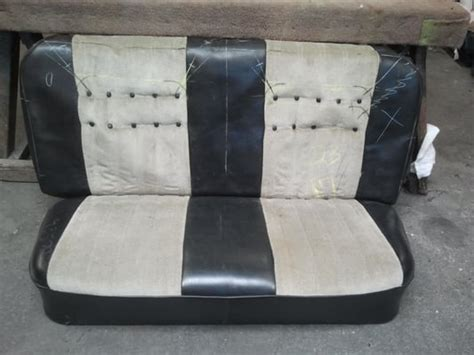 how to reupholster a bench seat 1940 chevy truck bench seat custom reupholster with custom