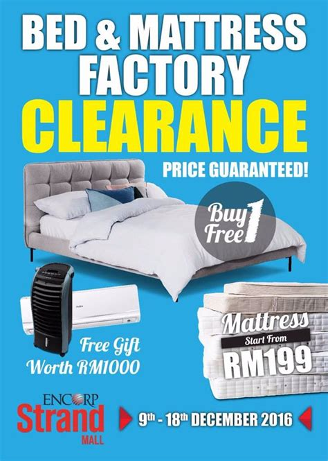 mattress clearance encorp bed mattress clearance sale home furniture sale in malaysia
