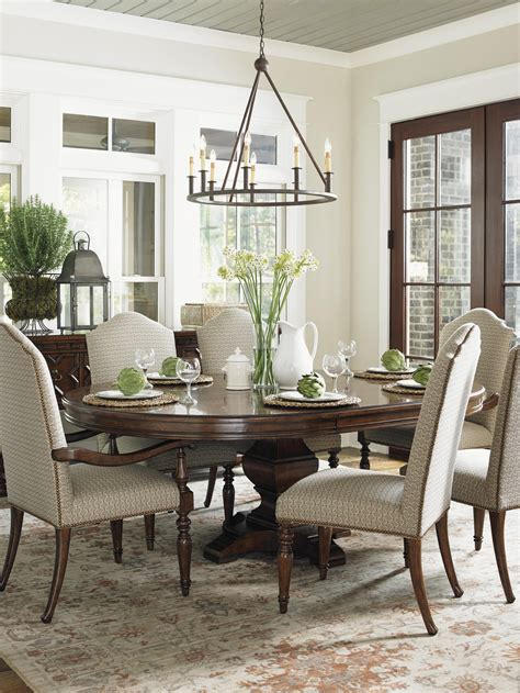 use a round table instead of a rectangular table in your