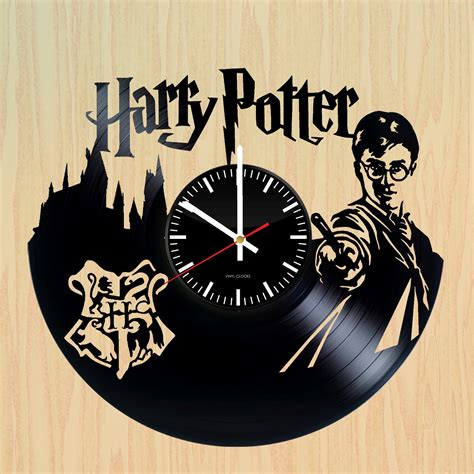 Harry Potter Handmade - harry potter handmade vinyl record wall clock fan gift