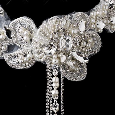 Choker Lace 6 venice lace bridal choker necklace set bridal