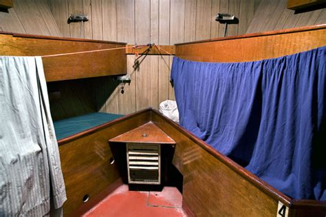 fishing boat sleeping quarters new bedford whaling national historical park fishing