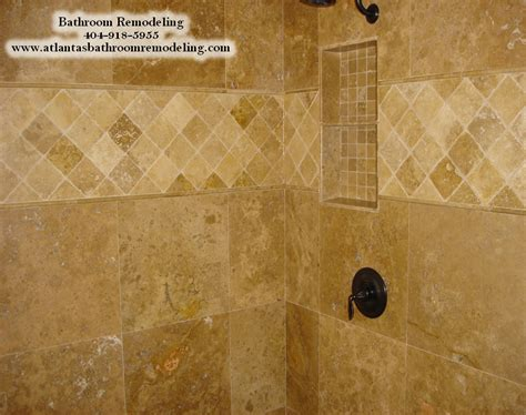 Travertine Tile Bathroom Shower Alpharetta Ga Shower Tile Installers Tile Installation Company In Alpharetta Ga