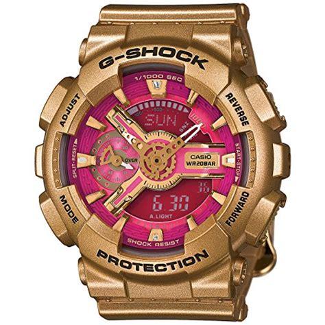 G Shock Baby G Time Black Angka Gold casio g shock s series gold pink s