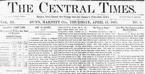 Paper From Newspaper - turn of the 20th century newspapers from dunn now on