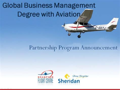 Mba Degree For Aviation by Program Business Management Sightposts1s