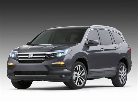 the redesigned 2016 honda pilot