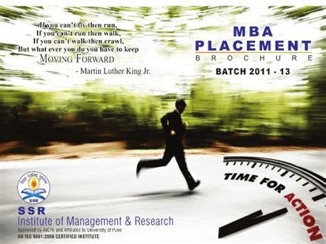 Ssr College Mba by Ssrimr Savitribai Phule Pune Affiliated Mba