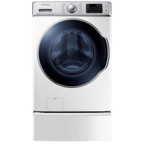 samsung 30 in w 5 6 cu ft high efficiency front load
