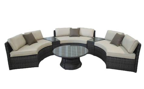 Circular Sectional Sofa Sale Circular Sectional Sofa Sale A Circular White Upholstered Confidante Sofa Late 20th Century