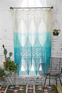 Blue Curtain Ideas The Crochet Curtains Curtains With Charm Of Covers Home