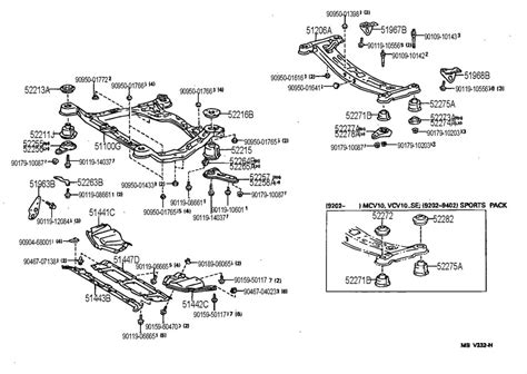 Toyota Parts Diagram Of Toyota Corolla Rear Bumper Diagram Wiring
